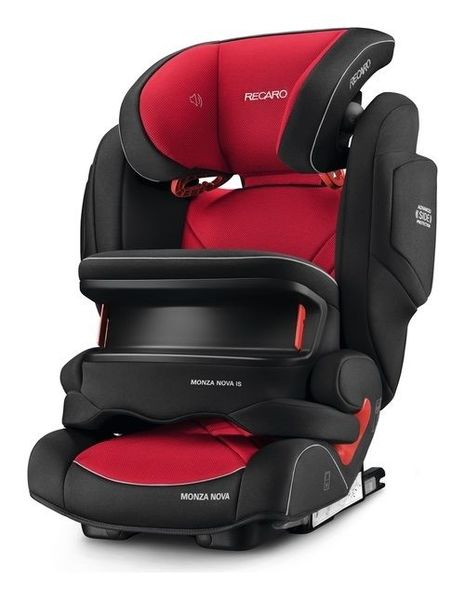 Recaro Стол за кола MONZA Nova IS Seatfix (9 -36 кг.) Racing Red 2017 6148.21509.66